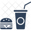 Junk Food Fast Food Drink Icon