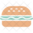 Fast Food Hotdog Hotdog Burger Icon