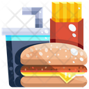 Fast Food Junk Food Meal Icon
