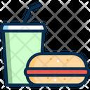 Juice Fast Food Junk Food Icon