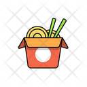 Wok Kitchen Food Icon