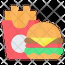 Burger Hamburger Sandwich Icon