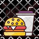Fast Food Burger Hamburger Icon
