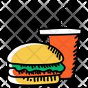 Junk Food Fast Food Unhealthy Food Icon