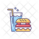 Eating Area Fast Icon
