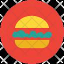 Fast Food Hamburger Icon