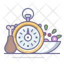 Fast Snack Time Icon