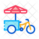 Fast Food Bicycle Icon