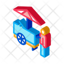 Fast Food Cart Icon