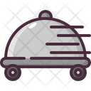 Delivery Food Tray Icon