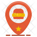 Fast-food location Icon