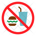 No Fast Food Not Icon