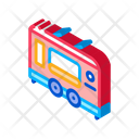 Fast Food Trailer Icon