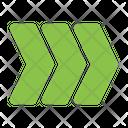 Fast Forward Fast Arrow Icon