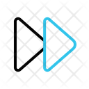 Forward Fast Arrow Icon