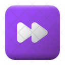 Fast Forward Ui Button Icon