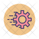 Fast Processing Processing Fast Icon