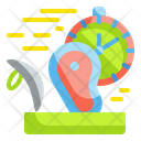 Fast Production Food Production Speed Icon