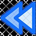 Fast Rewind Multimedia Fast Icon