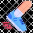 Fast Running Icon