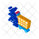 Shopping Cart Speed Icon
