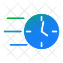Fast Time Time Clock Icon
