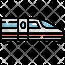 Fast Train Transport Icon
