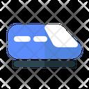 Fast Train Metro Train Bullet Train Icon
