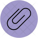 Fastener Clip Stationery Icon
