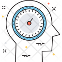 Faster Thinking Brain Icon