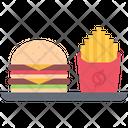 Fast Food Burger Icon