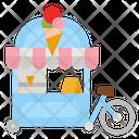 Fastfood Cart Icon