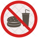 Fastfood not allowed Icon