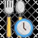 Fasting Ramadan Meal Icon