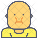 Fat Eating Food Icon
