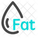 Fat Food Diet Icon