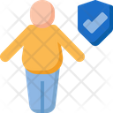 Fat Insurance Protection Icon