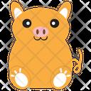 Fat Pig Icon