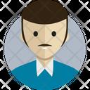 Avatar Person Blue Icon