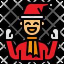 Father Xmas Christmas Icon