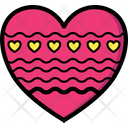 Christmas Father Heart Icon