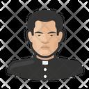 Father Catholic Clergy Icon