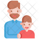 Father Boy Parents Icon