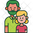 Father Kid Child Icon