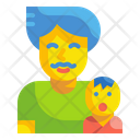 Father And Kid Icon