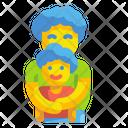 Father And Son Hug Son Icon