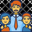 Father Children Icon
