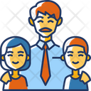 Father Children Family Father Icon