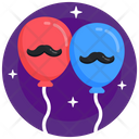 Father Day Balloons Icon