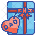 Father Day Gift Gift Box Package Icon